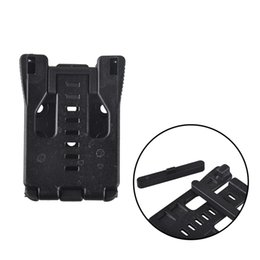 Wholesale Camp Clips - Multifunction Waist Clip Back Clamp K Sheath Scabbard Tools Black Outdoor Sport Camping Climbing Travel EDC Gear 2504031
