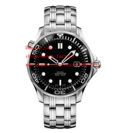 Wholesale Planet Ocean Sapphire - Luxury High Quality Brand Watch Black Dial 41mm Planet Ocean 212.30.41.20.01.003 Mechanical Stainless Steel Automatic Mens Watch Watches
