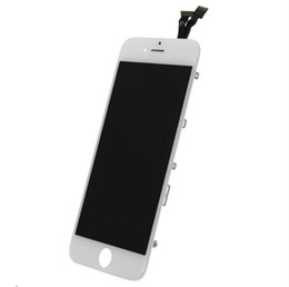 Wholesale Digitizer Lcd Touch Screen - High Quality LCD Display Touch Digitizer Complete Screen For iPhone 6 &iPhone 6 plus with Frame Full Assembly Replacement Part Free Shipping
