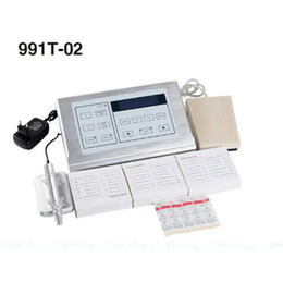 Wholesale Nouveau Tattoo - Nouveau Contour Style Multifunction Kit Professional Tattoo & Permanent New 991T-02 Makeup Rotary Machine Kit DHL or FedEx Fast Shipping