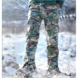 Wholesale Waterproof Camouflage Trousers - Summer Tactical Camouflage Army Pants Men Waterproof SWAT Combat Military Cargo Pants Hunting Sport Outdoor Trousers