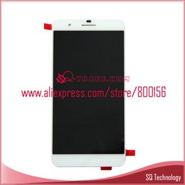 Wholesale Huawei Free Shipping - Wholesale-for Huawei Honor 6 Plus LCD Screen Display with Touch Screen Digitizer Assembly White black Color free shipping