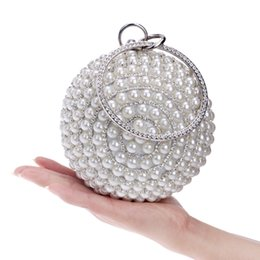Wholesale Designer Handbags Crystal - Luxury Womens Spheric Crystal Clutch Bags Evening Handbags Wallet Designer Purse Party Wedding Black Gold Silver Dating Awesome