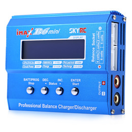 Wholesale Lipo Battery Balance Charger - Genuine SKYRC iMAX B6 Mini 60W Professional Lipo Balance Charger Discharger For RC Battery Charging Re-peak Mode For NIMH NICD Hot +NB