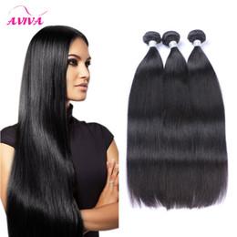 Wholesale 32 Pcs - Unprocessed Brazilian Straight Body Hair Weft Human Hair Natural color 9A Hair Extensions 3 pcs 4 pcs 5pcs lot bundles Dyeable