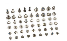 Wholesale Iphone Replacement Screws - Original New Full Screws Set For Apple iphone 4 4s 5 5g 5s 5c with Bottom Screw Replacement screw Repair Parts 100PCS Lot