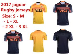 Wholesale black jaguars - Panthers jaguares Hot sales 17 18 Panthers jaguares home away rugby jerseys 2017 18 The latest jaguars jersey shirts S-3XL free shipping
