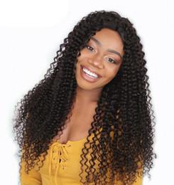 Монгольский парик онлайн-Свободные парики человеческих волос волны для черных женщин Glueless монгольские полные парики шнурка с плотностью G-легкой волос 130% младенца