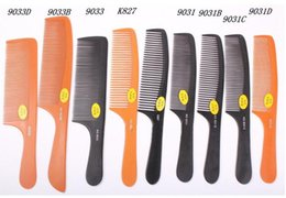Wholesale Thin Can - Anti-static comb ultra-thin hair cut comb bakelite comb can high temperature wholesale