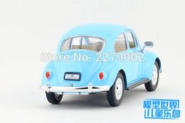 Wholesale Die Cast Toys - KINSMART Die Cast Metal Models 1:24 Scale 1967 Volkswagen Classical Beetle(Pastel Color)toys for children's gifts or collections
