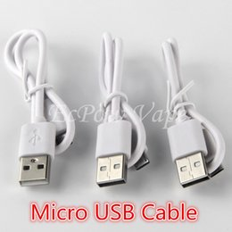 Wholesale Factory Direct Electronics - Micro USB Cables Micro USB Charger For Electronic Cigarette And Android Phone Charging 310mm Factory Direct Wholesale