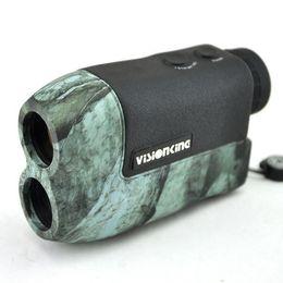 Wholesale Range Finder Laser - Free shippingVisionking range finder VS6x25CZ Hunting Golf Laser RangeFinder Angle Height 600m Optical Equipment hunting
