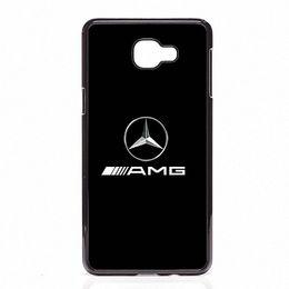 Argentina Diseñe el logotipo de AMG Cubiertas de teléfono Carcasas de plástico duro para Samsung Galaxy A3 A5 A7 A8 2015 2016 2016 Suministro