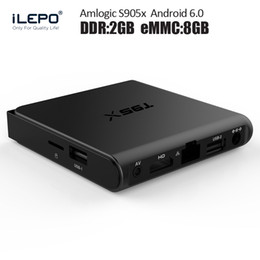 Wholesale Amlogic S905x Android Box GB Built in fully loaded media center tvapps Smart TV Box T95X G G