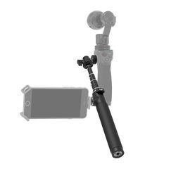 2019 4k stick 2016 оригинальный DJI расширение палку телескопический дизайн для Osmo ручной 4K камеры и 3-осевой карданный Часть 1 Черный 5 шт. дешево 4k stick