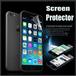 Wholesale huawei s7 screen - Transparent Clear Ultra LCD Screen Protector Guard Film With Cloth For iPhone X 8 7 Plus Samsung Note 8 5 S7 Edge Huawei P10 Xiaomi 6 LG G6