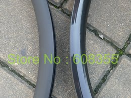 "Wholesale Mtb Carbon Wheels Rims - Wholesale-3k UD Carbon Matt Glossy 29er MTB Mountain Bike Clincher Wheel Rim 29"" Dis brake"