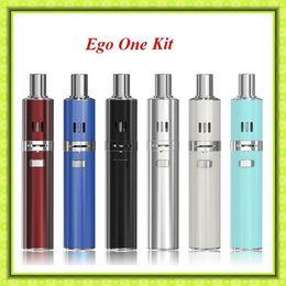 Wholesale Ego H - Joy-etech ego one kit 1100mAh 220mah Subohm Starter Kit E Cigarette Kit VS SMOK H-Priv Kit Subvod mega kit