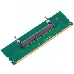 Wholesale Dimm Ram - 1pc DDR3 Laptop SO-DIMM to Desktop DIMM Memory RAM Connector Adapter DDR3 New Hot Quality