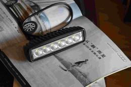 led work lights venda Desconto Venda quente levou luz de inundação Levou Luz de Trabalho 12 v LED cree bar luz marinha 18 w cor branca luz do carro 12 v DC luz de motocicleta