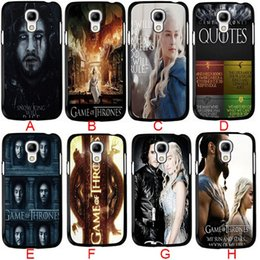 Wholesale Galaxy S4 Cover Cool - Coolest Game of Thrones TV Show CellPhone Cases for Samsung galaxy S3 S4 S5 S6 samsung Note 2 note3 note4 5 Phone Case Hard Back Case Cover