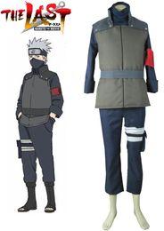 Wholesale Ninja Naruto - Wholesale-Naruto The movie The last-Hatake Kakashi Konoha Ninja Uniform Sixth Hokage Anime Cosplay Costume