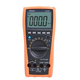 Wholesale Digital Multimeter Large Lcd - Wholesale-Brand New Electrical Instruments Auto Range Digital Multimeter Voltmeter Ammeter Temp Ohm Tester Large LCD Meter