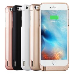 Wholesale iphone cover bank - Good quality 5000mah 7000mah Powercase External Power Bank Cover Charger powerbank case For iPhone 6 6s 7 Plus
