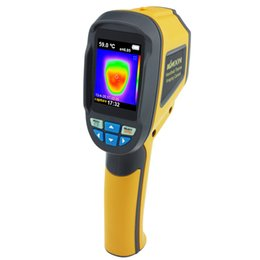 Wholesale Infrared Thermal Imaging Cameras - Professional Handheld Thermal Imaging Camera Portable Infrared Thermometer IR Thermal Imager Infrared Imaging Device