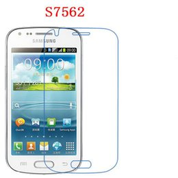 Wholesale Screen Protector Galaxy Trend S7562 - Soft Explosion-proof Nano for Samsung S7562 Galaxy Trend Duos S7560 Phone Protection film touch Screen Protector (Not Tempered Glass)