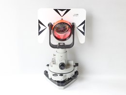 Wholesale Target Total Station - Retail Wholesale White metal Target Prism Gray Tribrach and Carrier for Pentax Topcon Sokkia South total station Free shipping