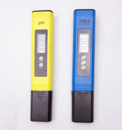 Wholesale Digital Tds Meter Tester Filter - Portable Pen Digital TDS Meter Filter Measuring Pool Water Quality Purity Tester PH 0.01 + TDS meter Titanium alloy probe