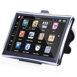 Wholesale United Toyota - Automobile Accessories 7 Inch Car GPS Navigator GPS Navigation Preload Free Lastest Maps RU UA US Europe Sat Nav 800MHz DDR128M