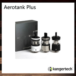 Wholesale Unique Tank Tops - Kanger Aerotank Plus Atomizer 2ml Tank Top Fill Design Unique Mouth to Lung Drip Tip Aerotank Style Adjustable Airflow Valve 100% Original