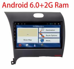 Wholesale Dvd Gps For Kia Forte - NEW!!2G RAM Android 6.0 2 DIN Car DVD GPS for Kia CERATO K3 FORTE 2013 2014 2015 2016 head unit radio video player wifi 1024*600