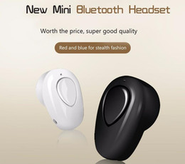 headphones small ears Coupons - S520 Mini Bluetooth Earphone Stereo Wireless Invisible small Headphones Super Headset Music handfree for iphone samsung mobile