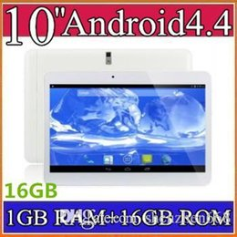 Wholesale Mtk6589 1gb 16gb - 2016 10 inch MTK6572 Dual Core MTK6582 MTK6589 Quad Core 1.2Ghz Android 4.4 WCDMA 3G Phone tablet pc GPS bluetooth Wifi Dual Camera A-10PB