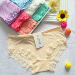 Wholesale Wholesale Girl Panties - Sexy women ladies vibrating underwear panties girls panty mix color free shipping one size