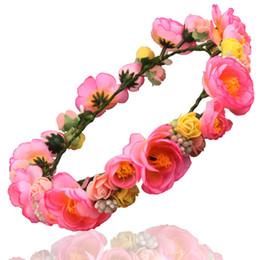 Canada New Hot Fast shipping coiffe de mariée fleur de camélia guirlande mariée cheveux fleur de mode fille Accessoires de cheveux Offre