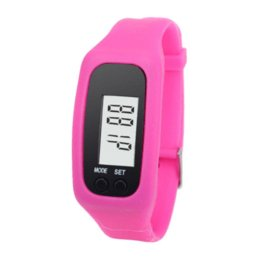 Wholesale Cheap Digital Counters - D6li Digital LCD Pedometer Run Step Walking Distance Calorie Counter Watch Bracelet Dec9 RV Cheap bracelet watch for men