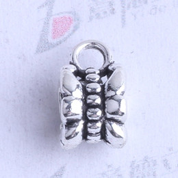 Wholesale Bronze Union - flower carved tee union with pattern Bead caps charm antique silver bronze Zinc Alloy for DIY pendant Jewelry Making Accessories 500pcs 2403