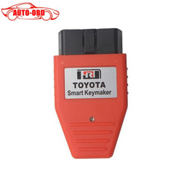 Wholesale Smart Keymaker - Wholesale-Toyota Smart Key maker 4D chip Toyota Smart Keymaker OBD2 Eobd Key Programmer with 3 Year Warranty
