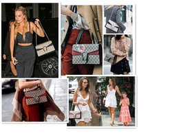 Wholesale Tassels For Handbags - Luxury Brand Women Handbags Famous Designer printing Shoulder Crossbody Bags For Women National style embroidery bee Bags 2017 NEW