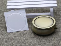 Медная коробка пилюльки металла с стикером эпоксидной смолы смолы-один контейнер коробки пилюльки отсека DIY-100 частей / серия PY01C от