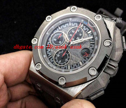 Wholesale Crystal Michael - Luxury Wristwatch Offshore Michael Schumacher Plat 26568PM.OO.A021CA.01 Quartz Mens Watches Men's Watch Top Quality