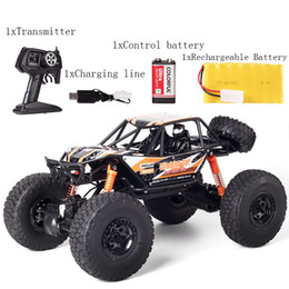 Wholesale Wholesale Rc Buggies - RC car,DeXop 2.4HZ Electric Rock Crawler Radio Control Cars Off Road high speed Racing Remote Control Cars for gift