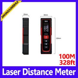 Wholesale Cheapest Range Finders - Range finder with laser pointer cheap laser distance meter mini laser distance meter MOQ=1 free shipping