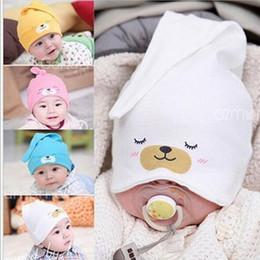 Wholesale New Hats Era - Baby Caps Winter Earflap Kids Hat Newborn Photography Props Baby Hats New Era Cap Lovely Shape 0-2 T BABY