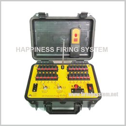Wholesale Pyrotechnic Firing Systems - FedEX Free shipping,24 channels pyrotechnic fire system, sequential fire, step fire, fire all fireworks firing system(DE24r)