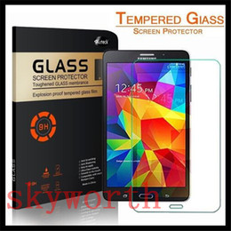 Wholesale Screen Film Retail S3 - 9H Premium Tempered Glass Screen Protector Film Guard for Samsung Galaxy Tab S3 T820 3 4 P5200 P3200 T530 Lite T110 retail package